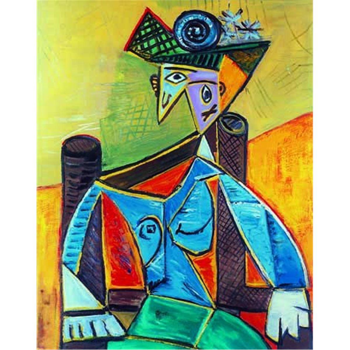 Tak, to właśnie mnie w 1932 roku namalował mistrz Picasso! / fot. liveauctiongroup.net